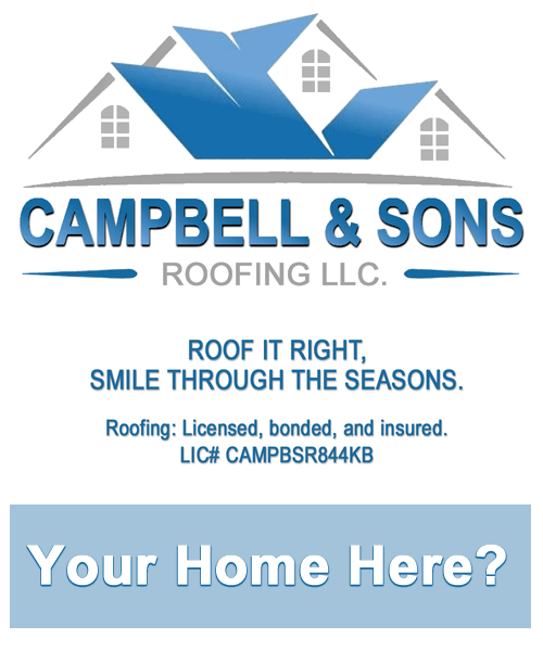 Your home here, call for a free estimate!